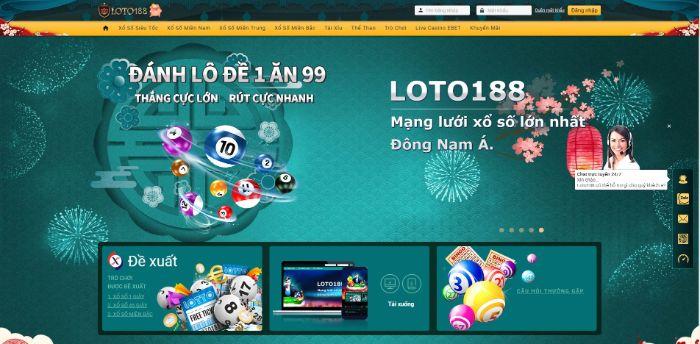 Loto188 là một trong các nhà cái uy tín đang hoạt động ở Philippines